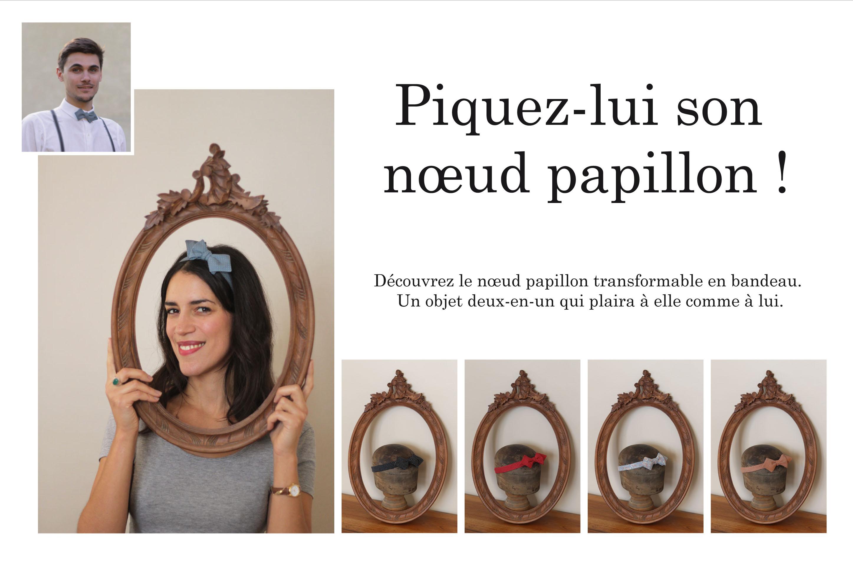 Monsieur Etienne noeuds papillon - Handband